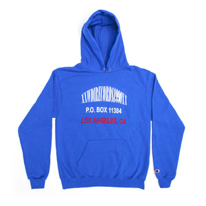 Broken Address Hoodie - Blue