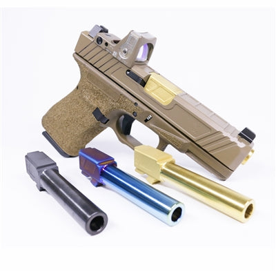 ALPHA G19 9MM Match Grade Barrel - TiN Gold