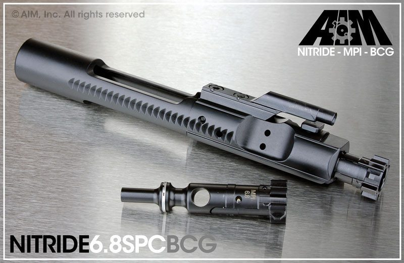 AIM 6.8 SPC Nitride Bolt Carrier Group MPI