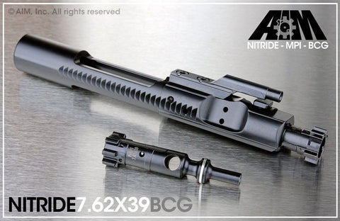 AIM 7.62x39 Nitride Bolt Carrier Group MPI Marked