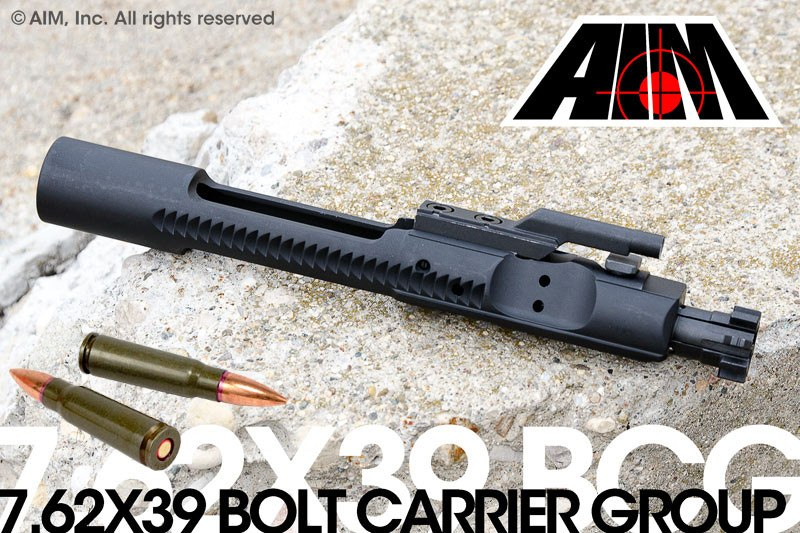 AIM 7.62x39 Phosphate Bolt Carrier Group MPI Marked - Sunny State Outdoors