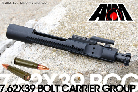 AIM 7.62x39 Phosphate Bolt Carrier Group MPI Marked