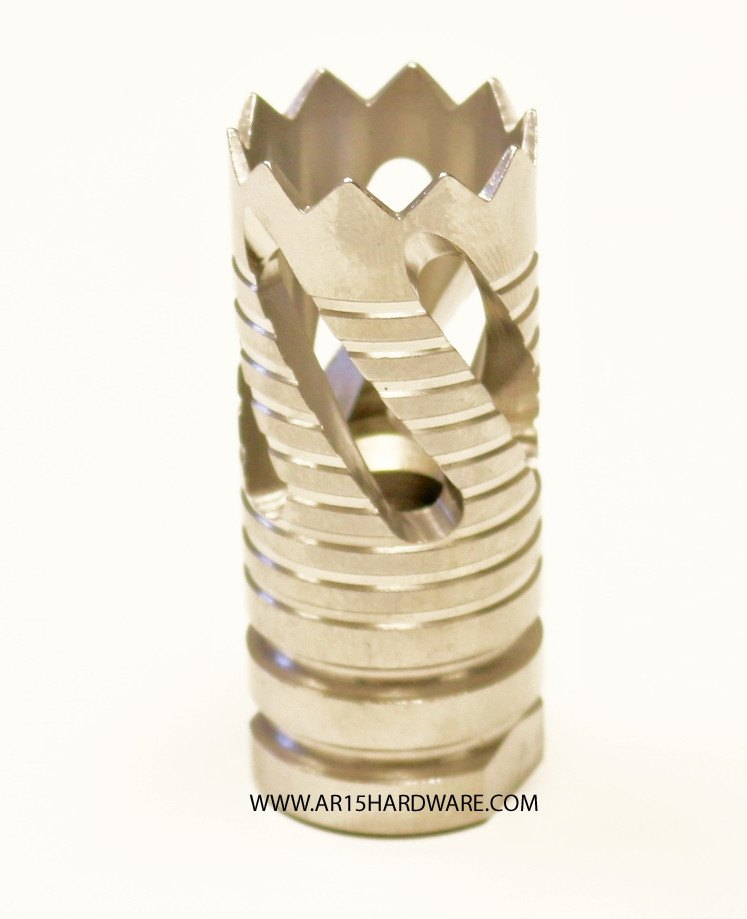 Alpha Spiral Phantom Stainless Flash Hider - Sunny State Outdoors