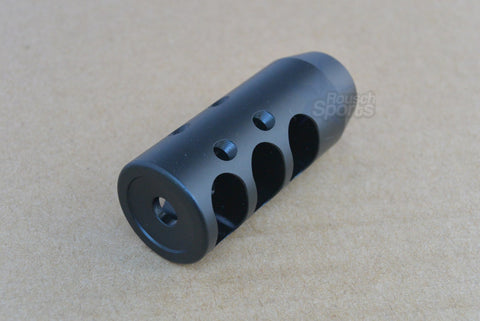 AR-15 Competition Short Muzzle Brake with Jam Nut