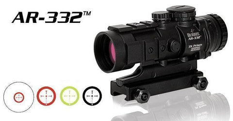 Burris AR-332 3x Prism Red Dot Sight - Sunny State Outdoors - 3