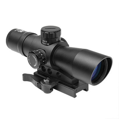 NcStar Mark III Tactical 2-7x Mil Dot Reticle Scope