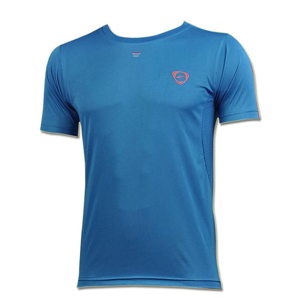 Jeansian Men's Sport Quick Dry Short Sleeve T-Shirt LSL071