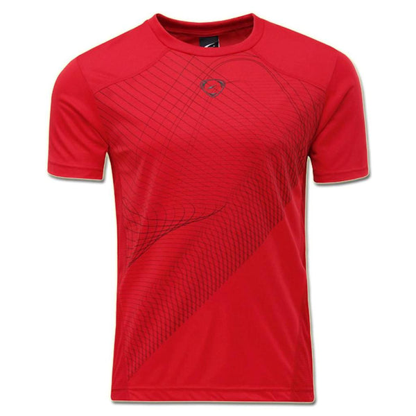Jeansian Men's Sport Quick Dry Short Sleeve T-Shirt LSL069