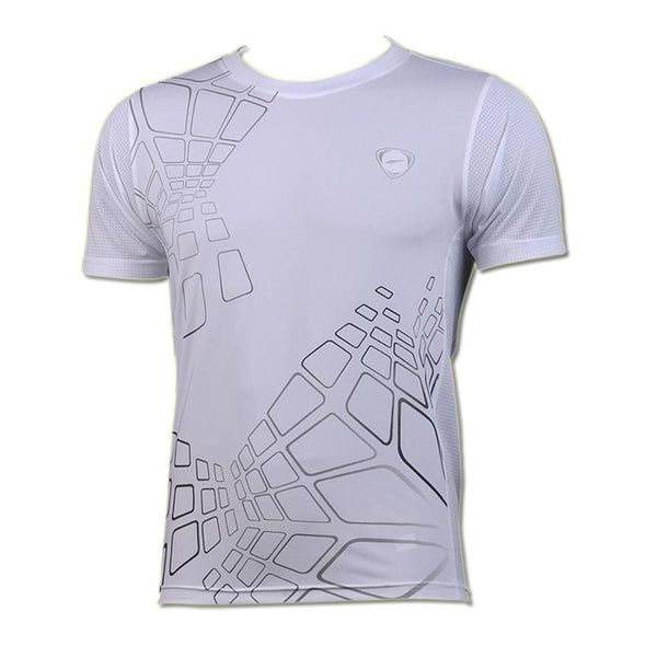 Jeansian Men's Sport Quick Dry Short Sleeve T-Shirt LSL017