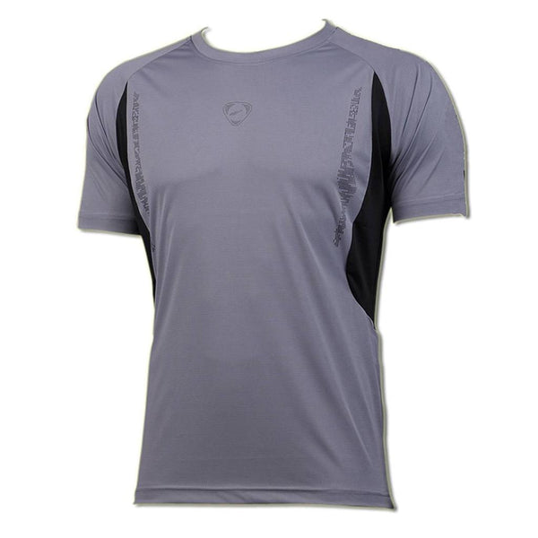 Jeansian Men's Sport Quick Dry Short Sleeve T-Shirt LSL006