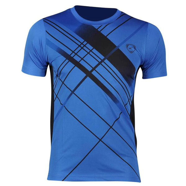 Jeansian Men's Sport Quick Dry Short Sleeve T-Shirt LSL133a