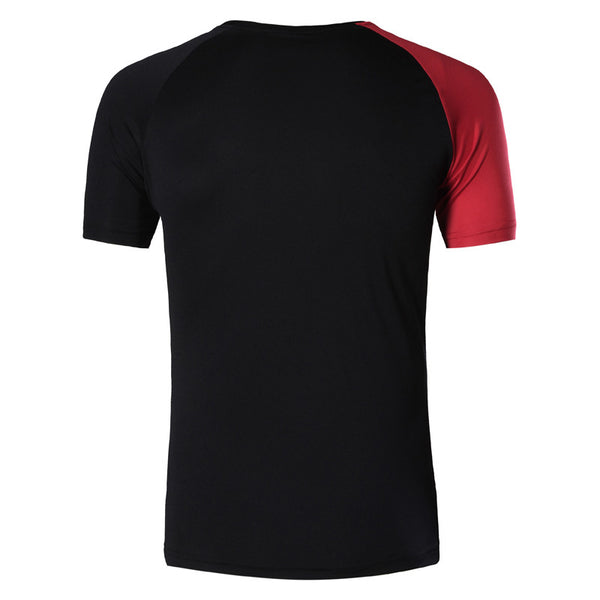 Jeansian Men's Sport Quick Dry Short Sleeve T-Shirt LSL193