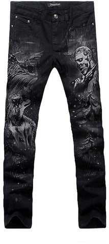 jeansian Men's Fashion Causal Pants Jeans MJB015