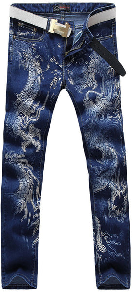 jeansian Men's Fashion Causal Pants Jeans MJB031