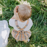 Orchard Reversible Overall Romper