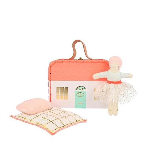 Matilda Mini Suitcase Doll - Meri Meri