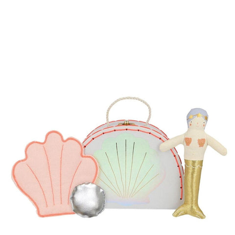 Mermaid Mini Suitcase Doll - Meri Meri