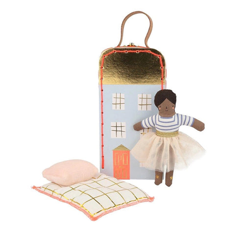 Ruby Mini Suitcase Doll - Meri Meri