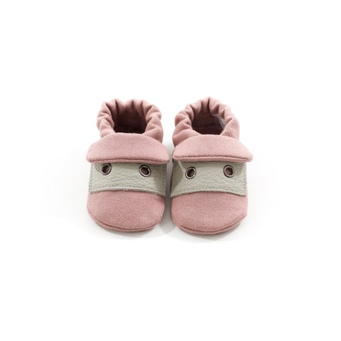 Dusty Mauve Classic Fabric Sole Shoes