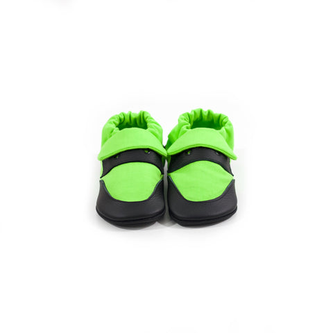 Lime Classic Soft Sole Shoes