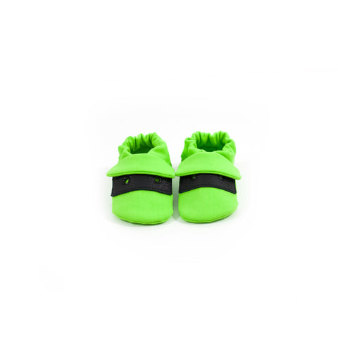 Lime Classic Fabric Sole Shoes