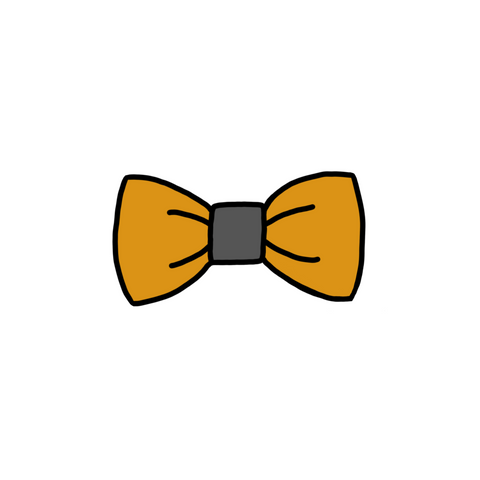 Highway Bow Tie & Hair Clip