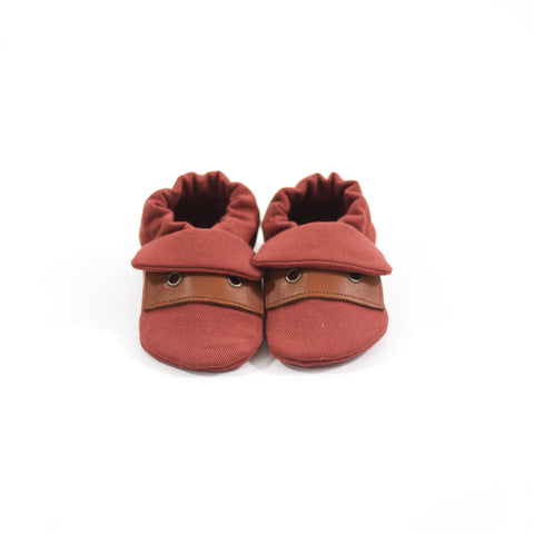 Brick Classic Fabric Sole Shoes