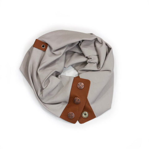 Dove Snap Scarf
