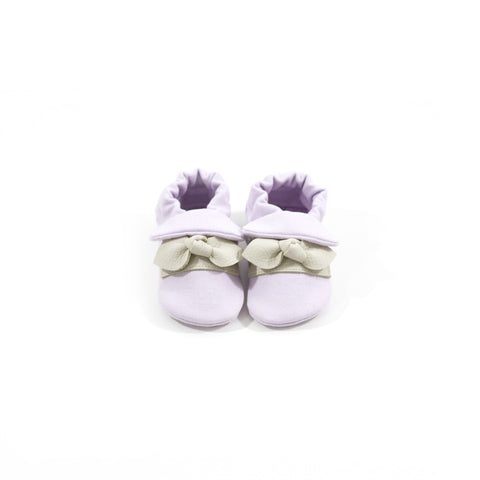 Lilac Classic Fabric Sole Shoes