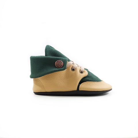 Forest Soft Sole Fold Over Boot
