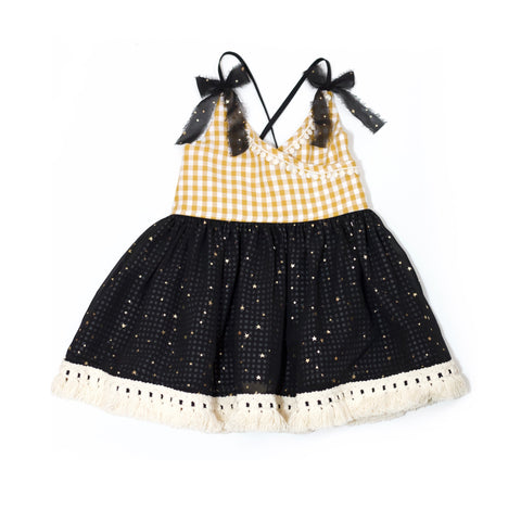 Shy Stars Dress - Size 2T