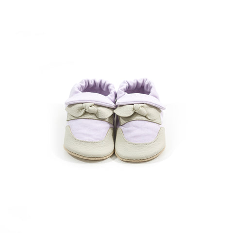 Lilac Classic Soft Sole Shoes