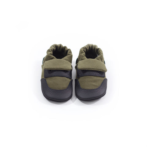Olive Classic Soft Sole Shoes