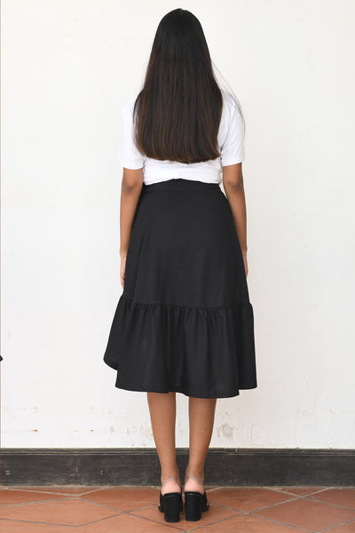 Retro Wrap Skirt V2