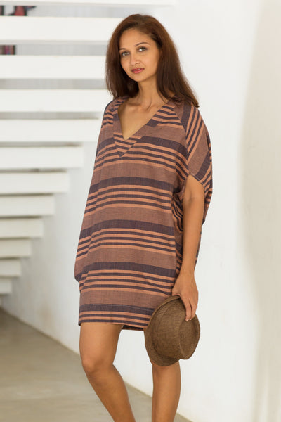 Handwoven tunic dress