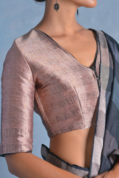 Urban Drape Coal Saree