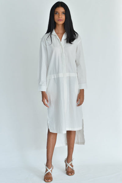 Long Tunic Shirt Dress