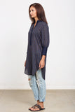 Navy tunic shirt