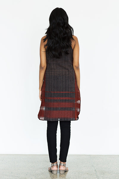 Hand Woven Strappy Tunic Top