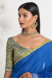 Urban Drape Heavenly Blue Saree