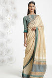 Urban Drape Spring Green Saree