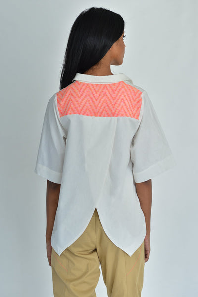 Back Overlap Shirt