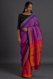 Urban Drape Plum Drop Saree