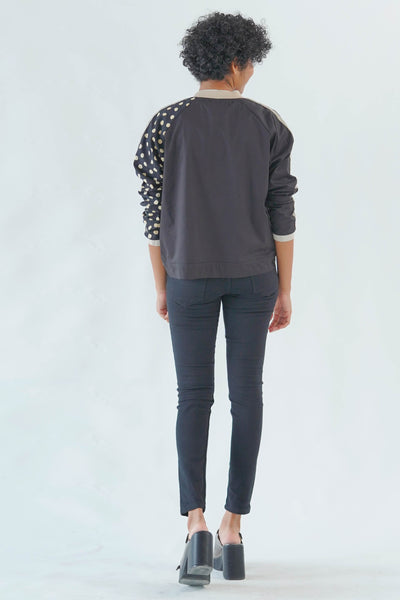 Spot on Open Bomber Jacket