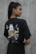 Load image into Gallery viewer, Queen Of Clubs Black T-Shirt