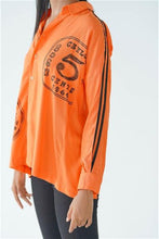Load image into Gallery viewer, Ceylon Travel Shirt ( Orange )