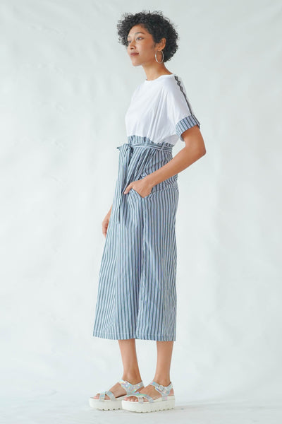Dream Big Stripe Midi Dress