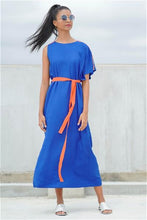 Load image into Gallery viewer, Serendin Maxi Dress (Blue)