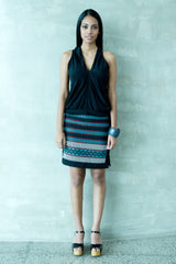Hand Woven fitted Skirt