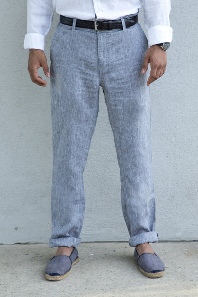 Casual Linen Trouser MPN2436-coffee